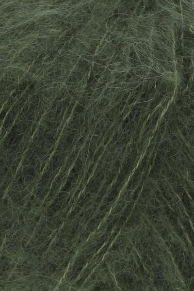 Lang Yarns Lusso 945.0198 donker olijf groen