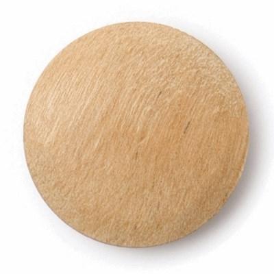 Knoop 22 mm - hout op=op