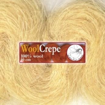 Woolcrepe blond 1 meter