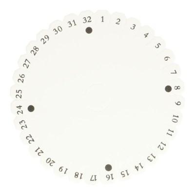 kumihimo disk rond 130 mm