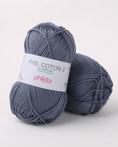 Phildar Phil coton 3 Denim