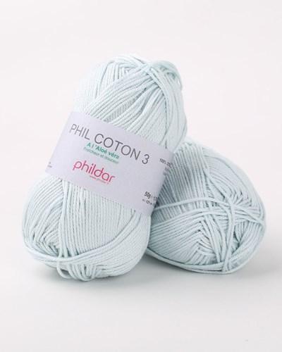 Phildar Phil coton 3 Opaline