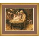 Borduurpakket Light of Love - Jozef, Maria, Jezus in Stal