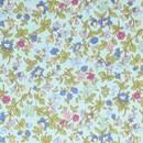 Tissu de Marie - licht blauw bloemen klein (per 50 cm)