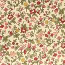 Tissu de Marie - oud geel bloemen klein (per 50 cm)