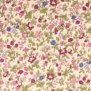 Tissu de Marie - ecru bloemen klein (per 50 cm)