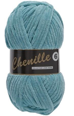 Lammy Yarns Chenille 6 - 457 oud blauw