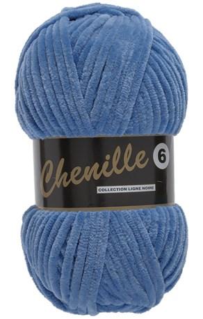 Lammy Yarns Chenille 6 - 012 blauw