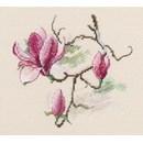 Borduurpakket bloemen magnolia RTO00731