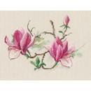 Borduurpakket bloemen magnolia RTO00730