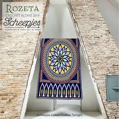 Call 2019 Scheepjes Rozeta - Colour Crafter Twilight levertermijn eind oktober