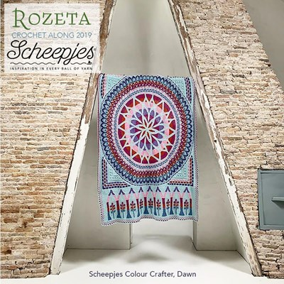Call 2019 Scheepjes Rozeta - Colour Crafter Dawn
