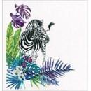 Borduurpakket dieren Zebra