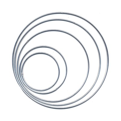 Ring metaal 95 cm 4,2 mm 5 stuks