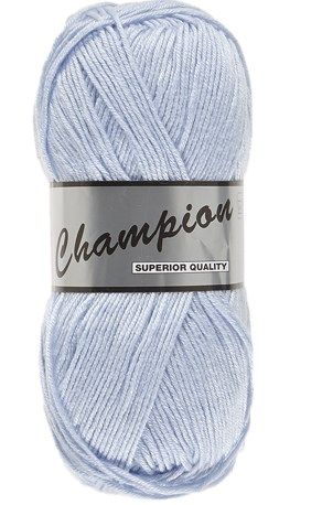Lammy Yarns champion 011 zeer licht blauw
