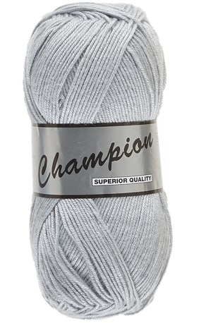 Lammy Yarns champion 038 zilver grijs