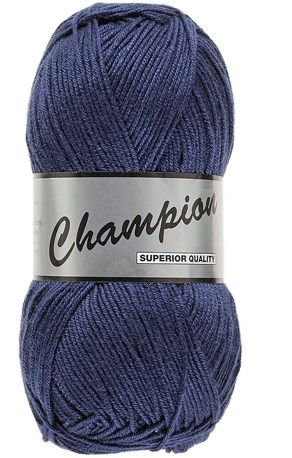 Lammy Yarns champion 890 marine blauw