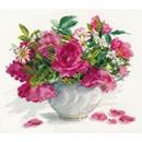 Borduurpakket bloemen Poetry of flowers AL02025