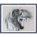 Borduurpakket dieren - a playful horse OV-0530 (op=op)