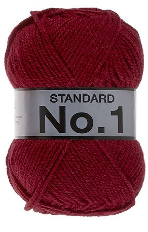 Lammy Yarns No 1 738 donker rood