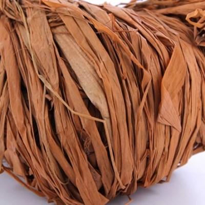 Raffia bruin 50 gram