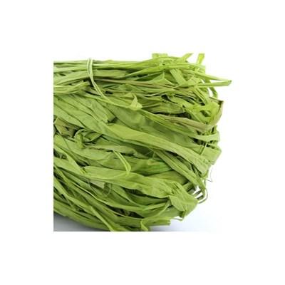 Raffia groen lime 50 gram