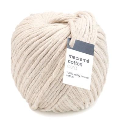 Macrame cotton cord - zwabberkatoen