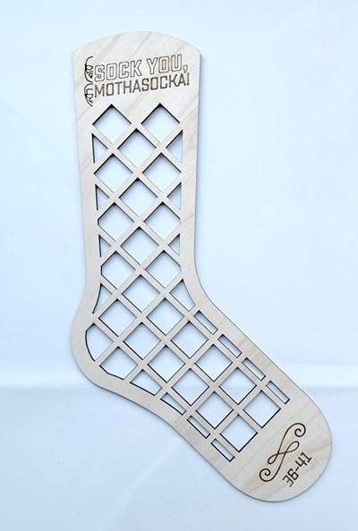 Sockblocker maat 25-30 hout 1 stuk