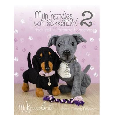 Mijn hondjes van sokkenwol deel 2