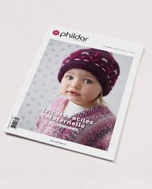 Phildar nr 698 herfst-winter 2019-2020 gemakkelijk breien baby- en peuter