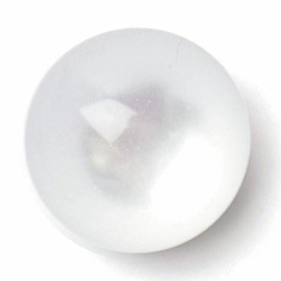Knoop 8 mm parelmoer bol