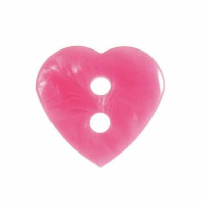 Knoop 15 mm hart roze