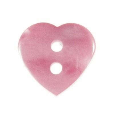 Knoop 15 mm hart licht roze
