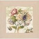 Borduurpakket bloemen Vervaco PN0145132 (op=op)