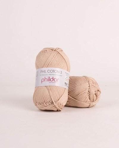 Phildar Phil coton 3 Dune