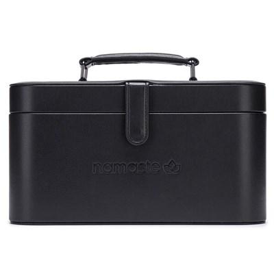 Namaste train case - handwerkkoffer zwart 30x16,5x15,5cm