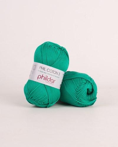 Phildar Phil coton 3 Emeraude