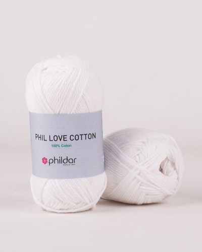 Phildar Phil Love Cotton Blanc 1225