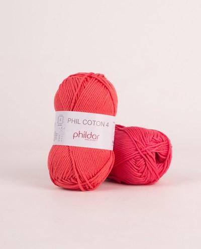 Phildar Phil Coton 4 Pasteque 2460