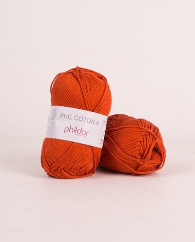 Phildar Phil Coton 4 Carotte 2396