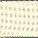 Aida band 5,5 ecru (hoogte 5 cm) (per 10 cm)