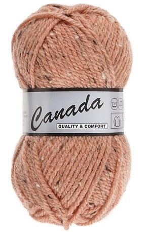 Lammy Yarns Canada tweed 480 zalm