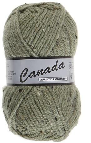 Lammy Yarns Canada tweed 495 alsem groen