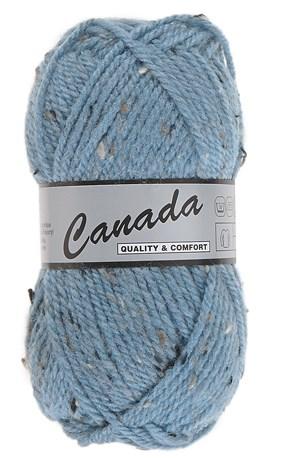 Lammy Yarns Canada tweed 462 denim blauw