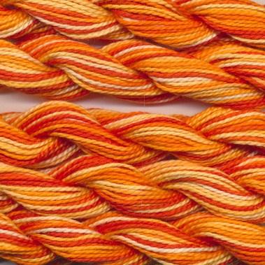 DMC cotton perle 5 - 0051 oranje geel