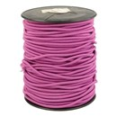 Elastiek koord 3  mm - roze zacht fuchsia 793 (1 meter)