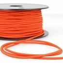 Elastiek koord 3  mm - oranje (4,95 meter)