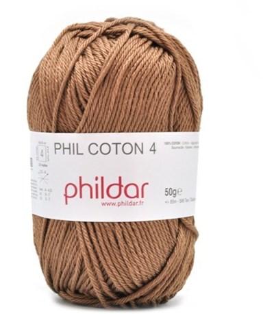 Phildar Phil Coton 4 cappucino 1068
