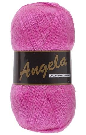 Lammy Yarns Angela 020 hard roze