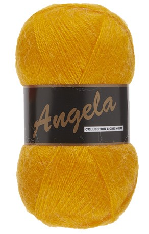 Lammy Yarns Angela 372 geel